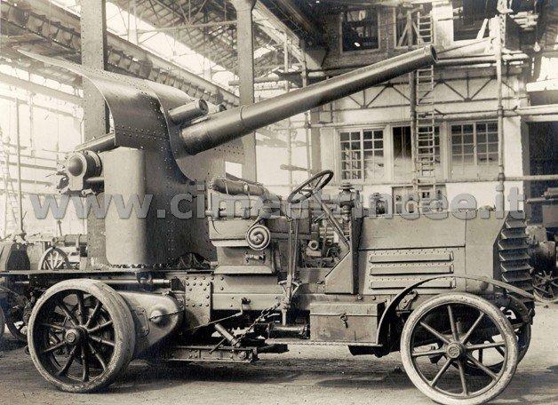 nn. 42695; autocannone 102-35; 1916